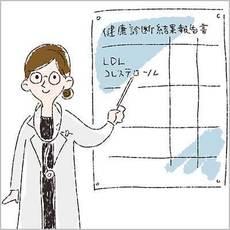 LDLコレステロールの値をチェックした…