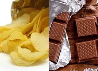 「ポテチ対チョコ」より健康に悪いのは?