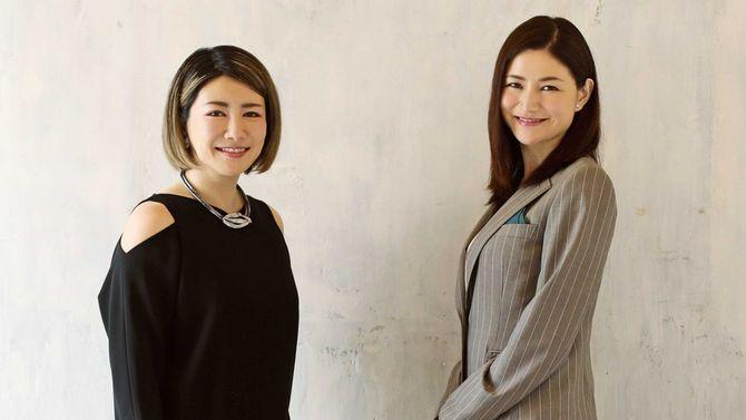 信州大学特任准教授の山口真由さん(右)と、脳科学者の中野信子さん(左)