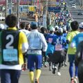 東京マラソン不参加組も走る