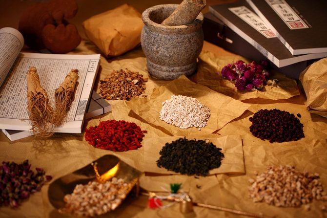伝統的な中国の薬