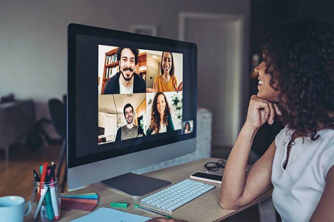 オンラインビジネスミーティング