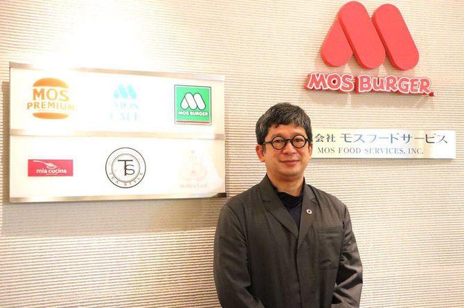 モスフードサービス上席執行役員 マーケティング本部長の安藤芳徳さん