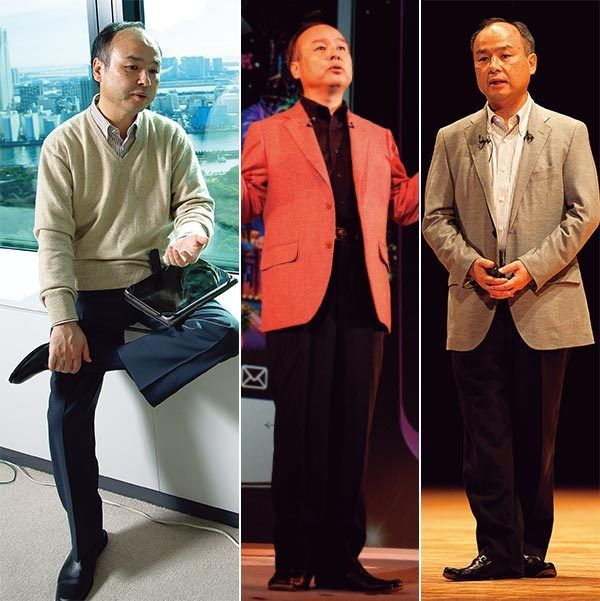 左から)管理職世代のお手本、ジャケパンスタイル、リラックススタイル(写真=AFLO)