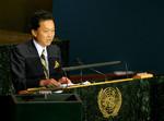 鳩山由紀夫首相の国連総会・演説は、国内だけでなく海外でも話題に。(AP Images=写真)