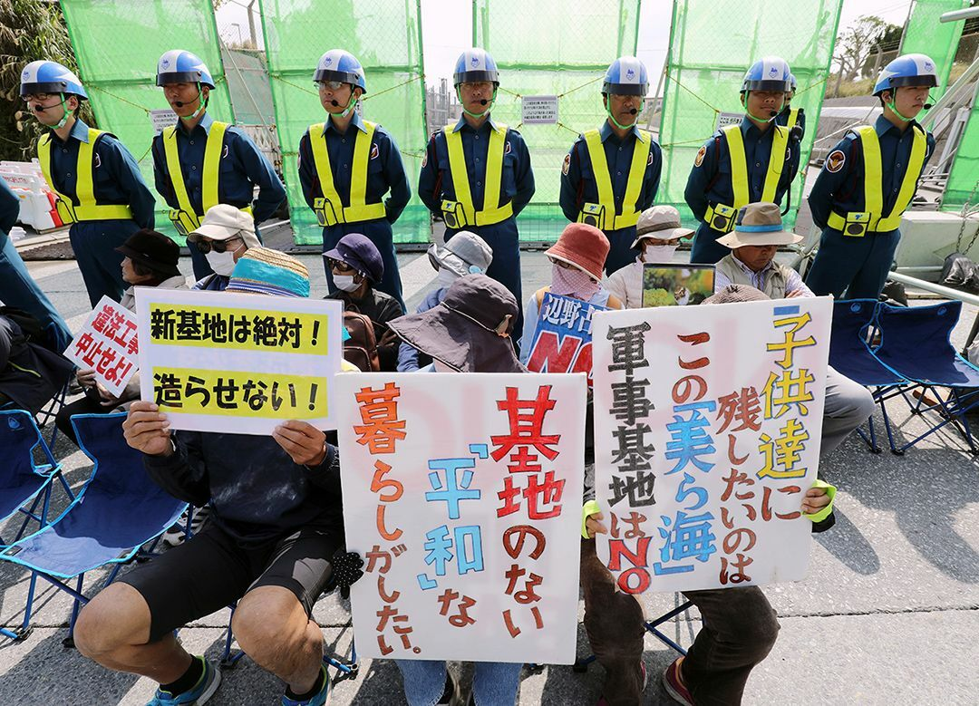 沖縄県民投票をスルーする自民党の姑息さ 民主主義を無視するのと同じことだ