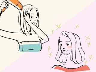 髪質に差が出る、正しいドライ&ブロー術