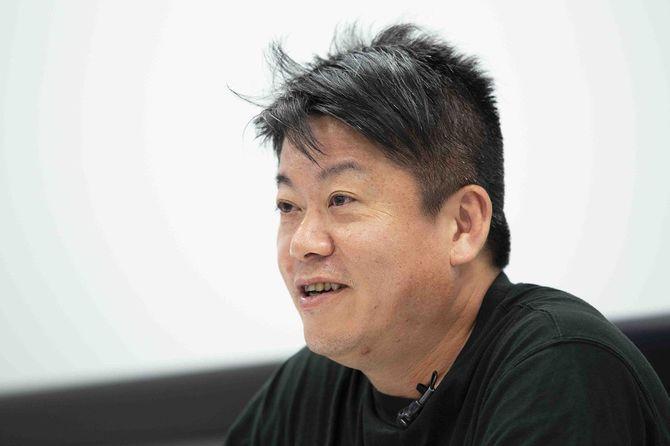 実業家の堀江貴文さん