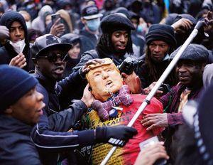 黒人差別抗議デモは世界中に拡大している。