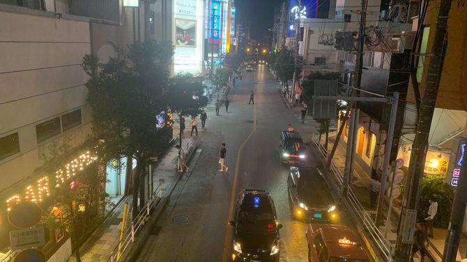 沖縄県那覇市にある県最大の歓楽街・松山
