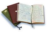 使っているのは2005年に装い、中身とも一新した社員手帳。