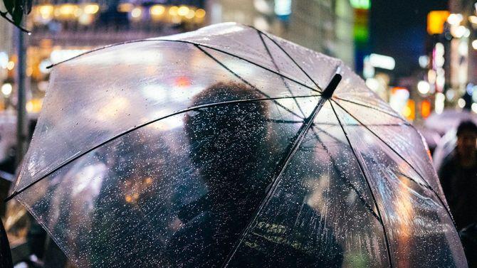 雨の降る渋谷