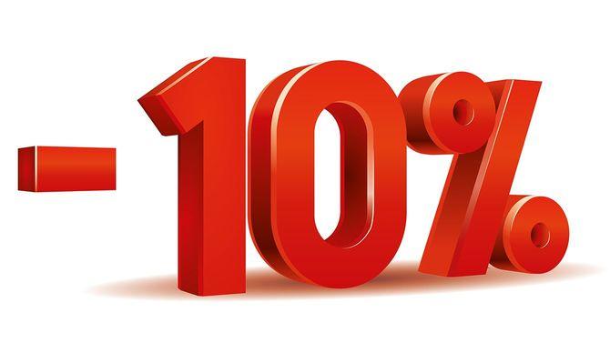 -10パーセント