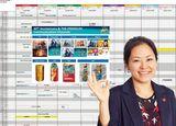 売れっ子マーケッターの「進捗管理表」