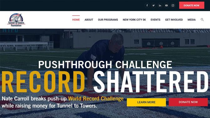 Tunnels to Towers Foundationのサイトより