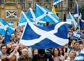 世界に飛び火するスコットランド独立問題