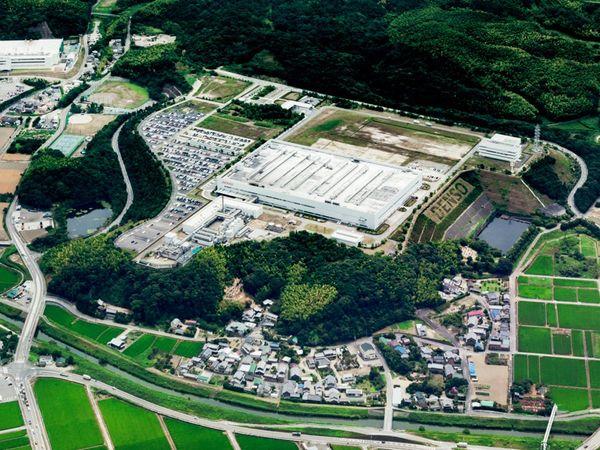 デンソーの主力工場の一つ、善明製作所の全景
