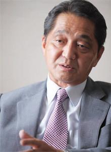 <strong>JFE HD社長 馬田一</strong>●1948年10月7日生まれ。73年、東大工学院修了、川崎製鉄入社。95年、鉄鋼企画部企画室長。99年、経営企画部長。2003年、JFEスティール専務。05年、同社長。10年、現職。