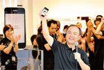 2009年4~6月期決算説明会にて、孫正義社長は「3年後、携帯電話はiPhoneのようなものに取って代わる」と予言した。