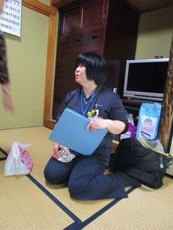 訪問看護師の小畑雅子さん