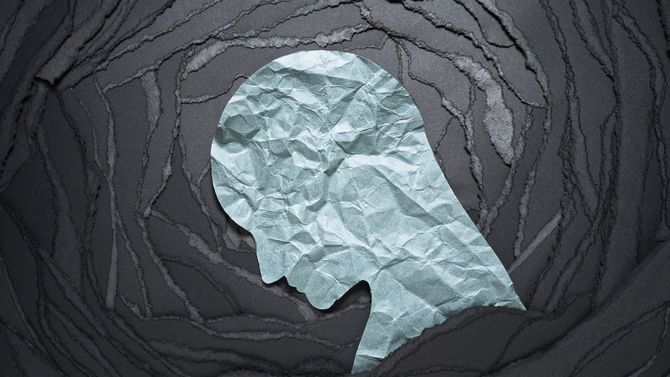 ネガティブな感情のイメージ