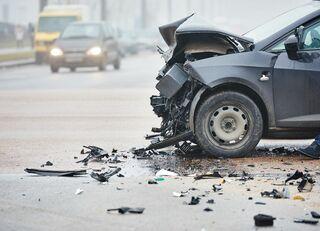 交通事故で