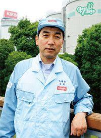<strong>キリンビール横浜工場長●石井康之</strong><br>1980年キリンビール入社。20年にわたり工場と本社生産管理部門にてビールづくりに打ち込む。経営企画部、キリンヨーロッパ社長を経て現職。