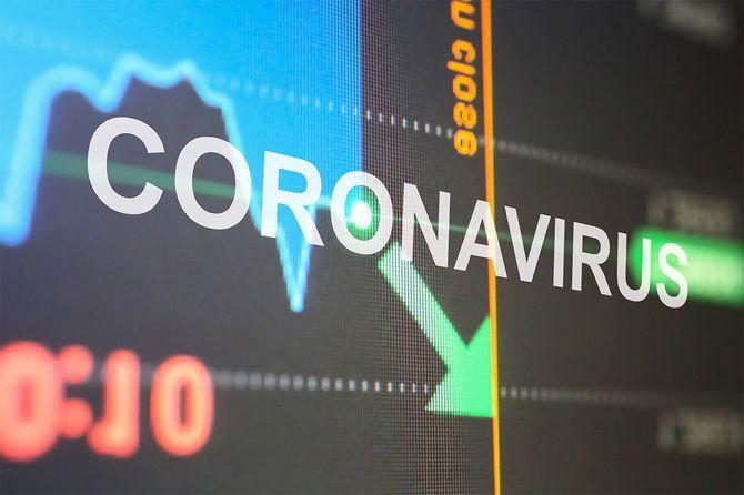 コロナウイルスの流行で株式市場が下落