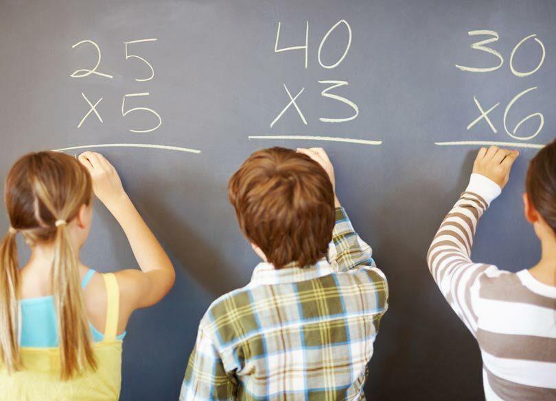 「インド式棒算」で2ケタのかけ算を解く 九九を知らなくても計算できる