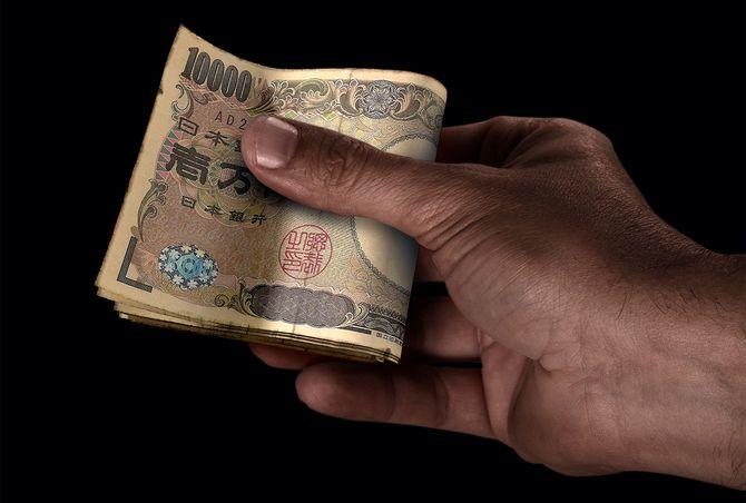 ブラックハンドと現金