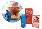 消化液は食品添加物の一種で人体にも無害。「東急ハンズ」などで取り扱い中。天ぷら火災用もある。