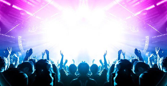 コンサートのステージ