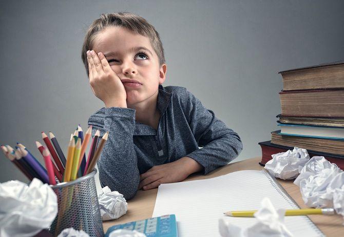 宿題が手につかない子供