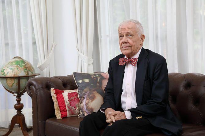 「バブル崩壊前に最後の巨大バブルがやってくる可能性がある」と語るジム・ロジャーズ氏。