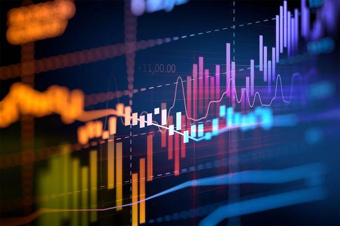 金融グラフに技術の抽象的な背景