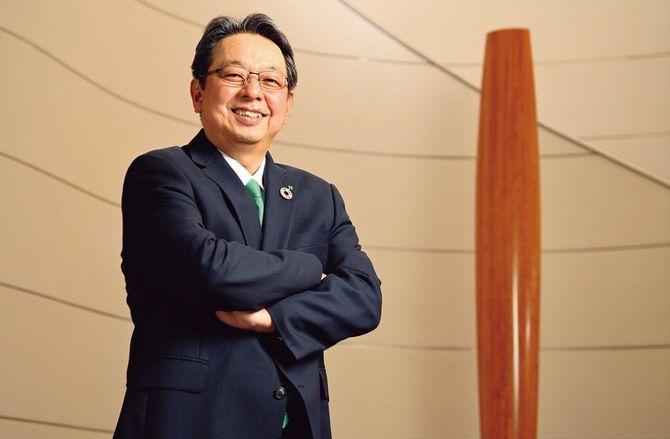 JT代表取締役社長 寺畠正道氏