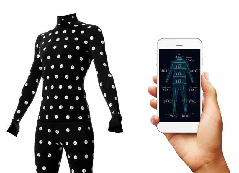 """ゾゾが赤字覚悟で""""計測スーツ""""を配るワケ 狙いは「ネット注文服」の工場化か"""