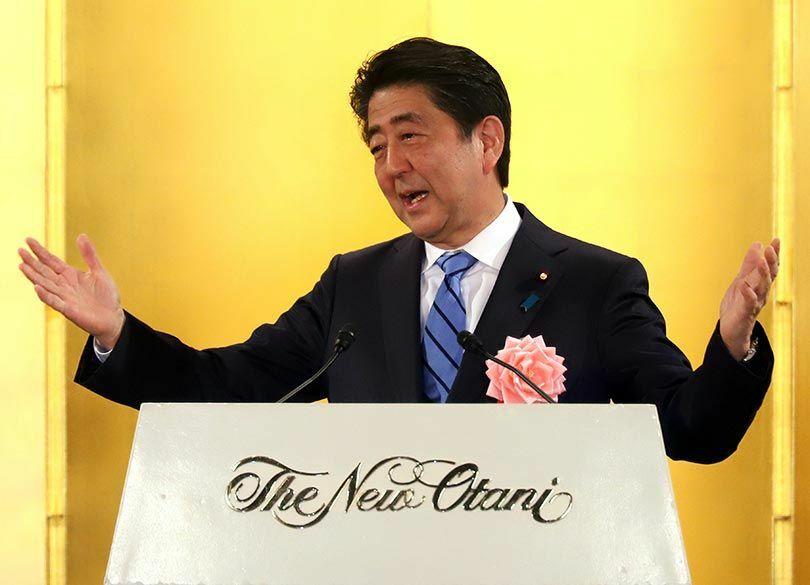安倍首相が新年会で財界を持ち上げたワケ 有力トップは先行きを楽観するが…