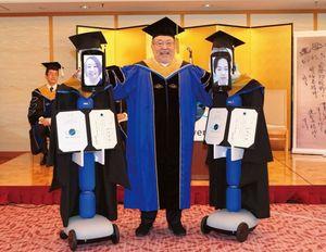 BBT大学のアバター卒業式(2020年3月28日)。
