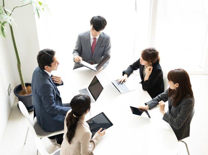 アジアbusinessgroup会議(オフィス)