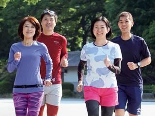 仲間と一緒なら長い距離でも楽しく走れる
