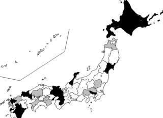 ブラック就業率が高い県はイジメ容認多数