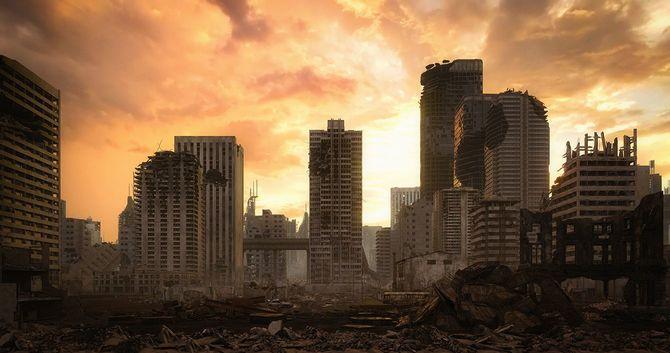 ポスト黙示録都市景観