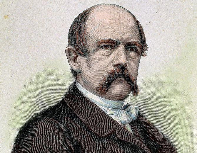 Portrait de Otto Von Bismarck (1815-1898)