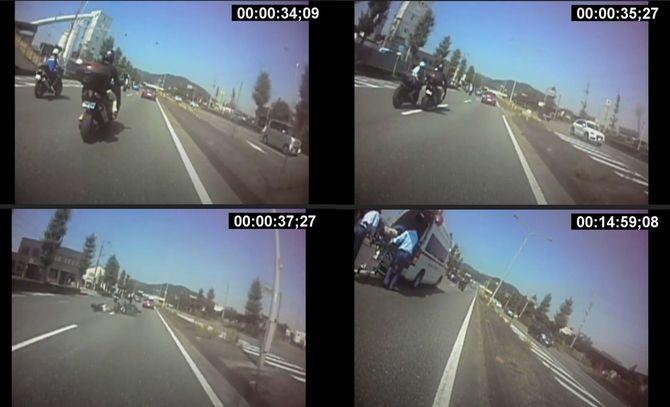 事故時の静止画像