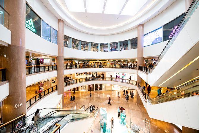 ハーバー シティ、香港ショッピング モール