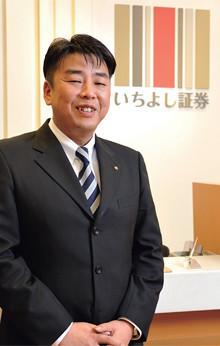<strong>玉田弘文</strong>●1971年生まれ。95年大阪経済大学卒業。三洋証券(97年経営破綻)より98年に入社。2006年9月より現職。トップセールスマンとして後輩の指導にもあたる。「ITバブルも経験しましたが、さすがに今回の衝撃は桁外れでした」。