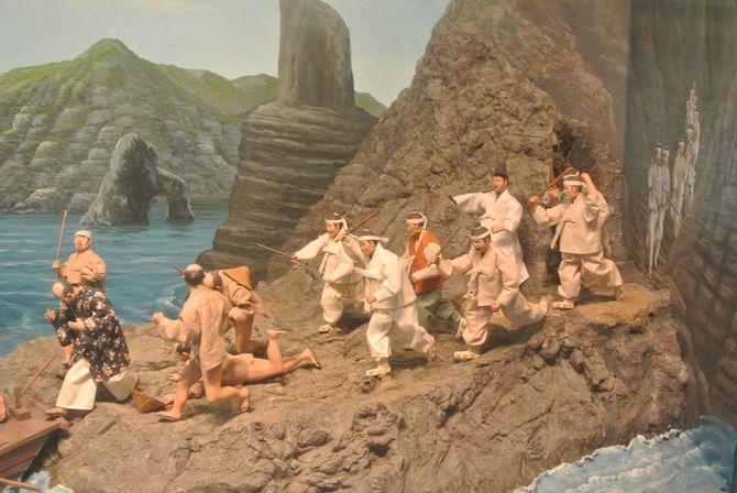 展示「竹島から日本人を追い出す」