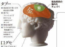 徳島県民――堅実な常識人だが、隣近所も信用しない疑り深い一面も