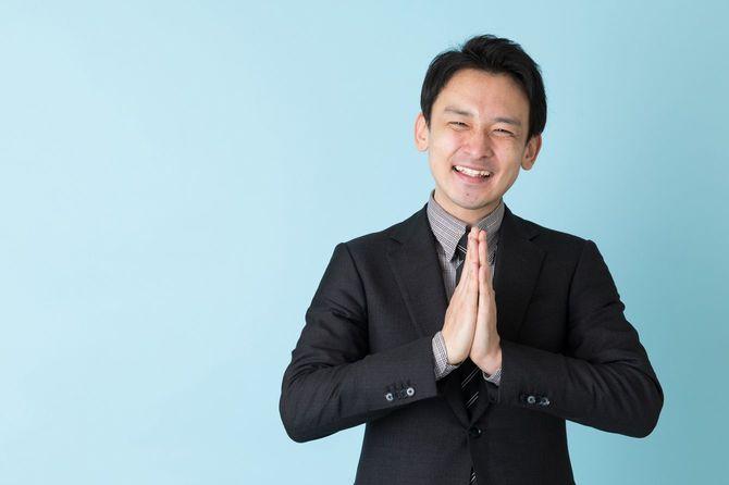 アジア系ビジネスマン
